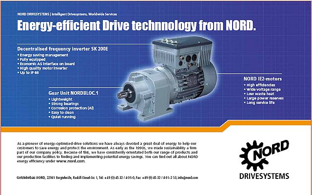 Energy-efficient Drive technology