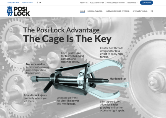 Posi Lock Puller Launches New Website