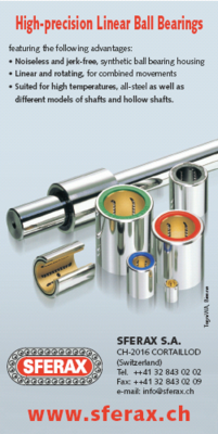 High-precision Linear Ball Bearings