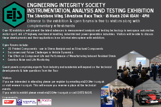 Instrumentation, Analysis and Testing Exhibition 2014