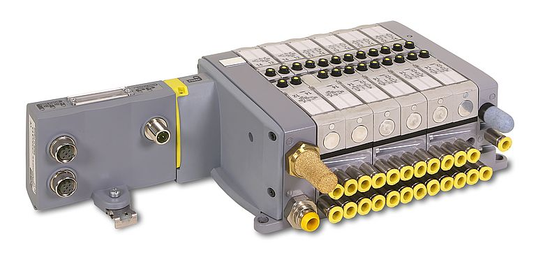 Industrial Ethernet Connectivity in Pneumatic Valves