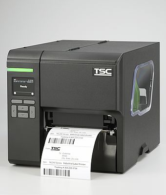 Compact Industrial Barcode Label Printers