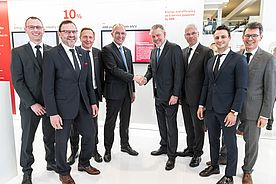MVV Signed a Partnership Agreement with ABB at Hannover Messe 2019
