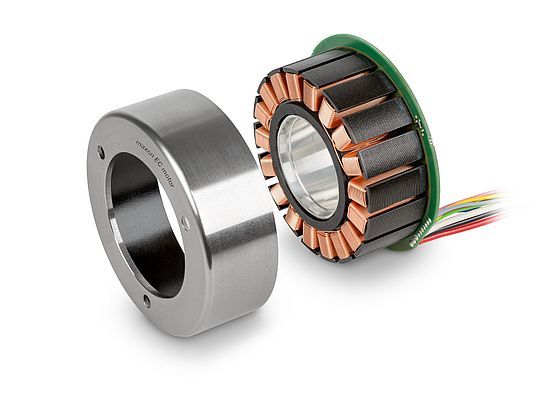 Brushless Flat Motors
