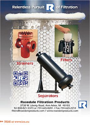 Strainers, Filters, Separators