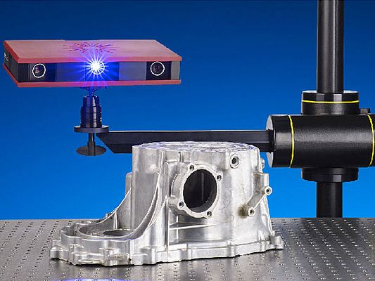 Industrial 3D Scanning Technology