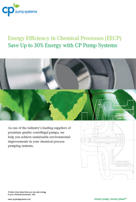 Centrifugal Pumps help save up to 30% energy