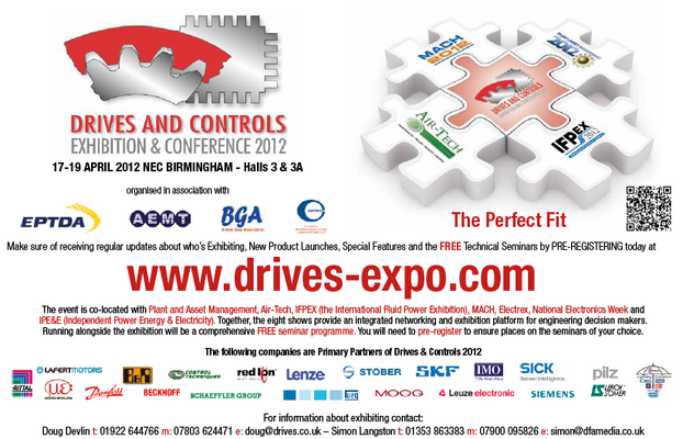 Drives & Controls 2012: Exhibition and Conference