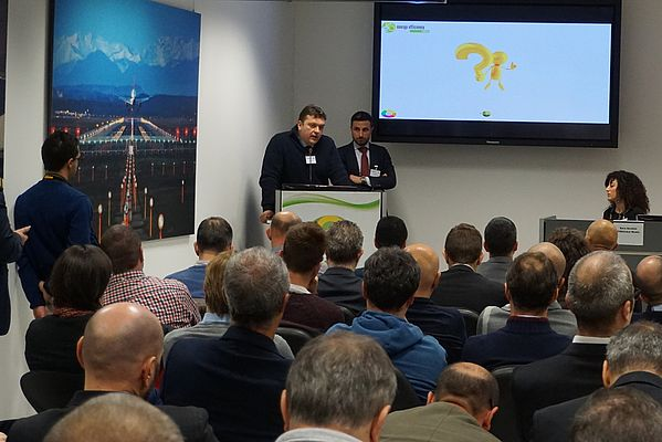 Tekfor Italy and Ingersoll Rand Presented their Application Story at the Energy Efficiency Stories Conference