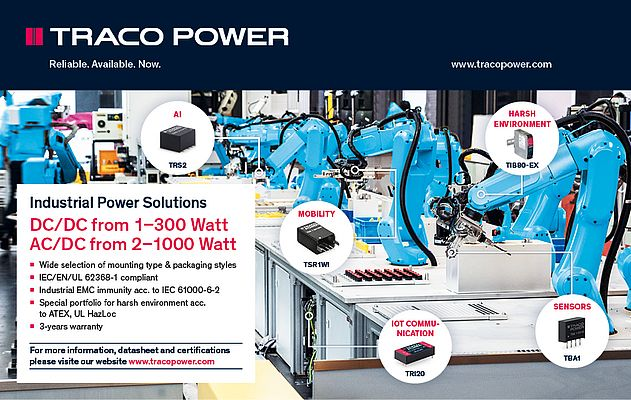 Traco's Industrial Power Solutions