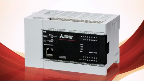 "Mitsubishi Electric has expanded its iQ range of PLCs with the compact MELSEC iQ-F series, building on the legacy of the market leading FX platform and broadening the range of available applications with a comprehensive set of ""built-in"" function"