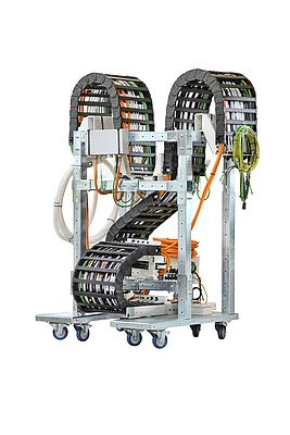 Cable Carrier Transport Rack