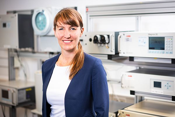 Sabine Busse, Managing Director, President of Measurement & Analytics at ABB's Industrial Automation Business
