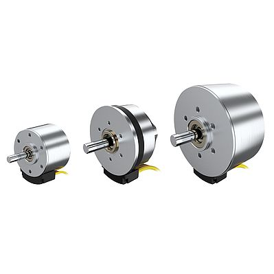 Brushless Flat DC-Servomotors with more torque