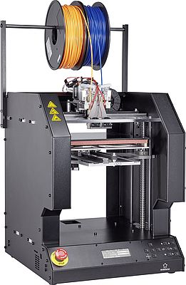3D Printer with Dual Extruders