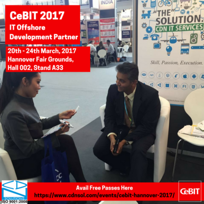 CDN to Showcase Innovative Products built in IoT and Wearable Technology at CeBIT 2017