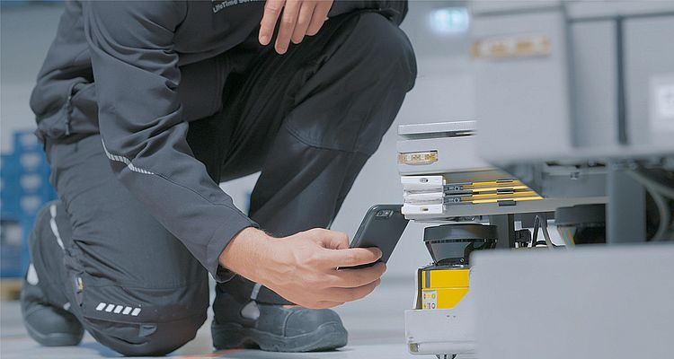 The Installed Base Manager app allows the quick and easy digitalization of sensors and machines.
