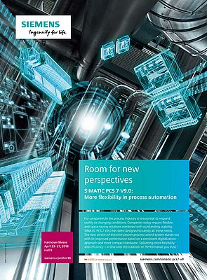 Room for new Perspectives. Simatic PCS 7 V9.0: More Flexibility in Process Automation
