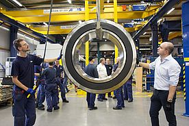 SKF delivers its largest bearing to Peruvian customer
