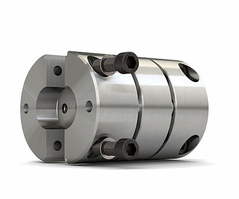 Backlash-free Servo Couplings