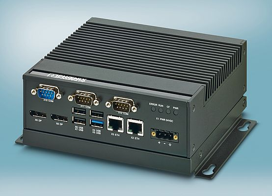 Compact & Fanless Quad-Core Box PC