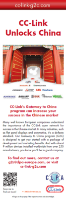 CC-Link's Gateway to China program
