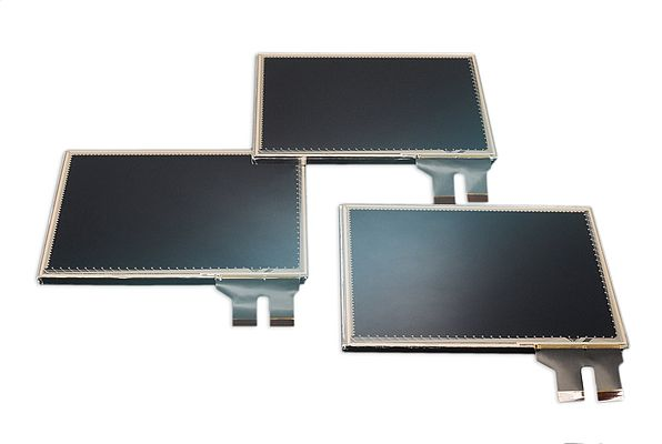 Integrated LCD displays