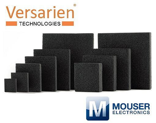 Versarien Signs an Exclusive Distribution Partnership with Mouser Electronics
