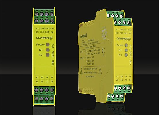 The new Safety Relay, designed for the protection of people and machines