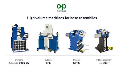 High Volume Machines for Hose Assemblies