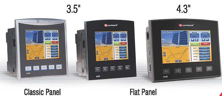 PLC + HMI All In One