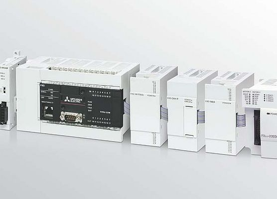 Expansion Blocks Extend Capability of New FX5U PLC's