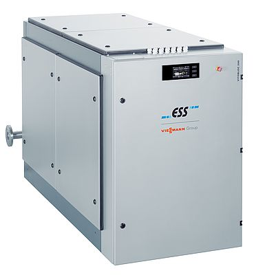 Fully wired CHP generation unit