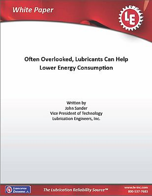 Lowering Energy Consumption With Lubricants