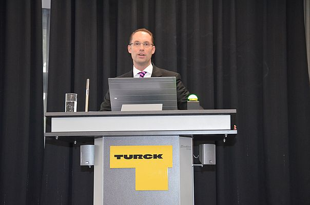 Christian Wolf, Turck Managing Director, expects a consolidated group turnover for the financial year 2013 of EUR 450 million