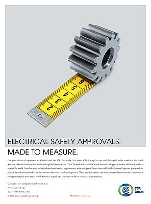 Electrical Safety Approvals. Made to Measure