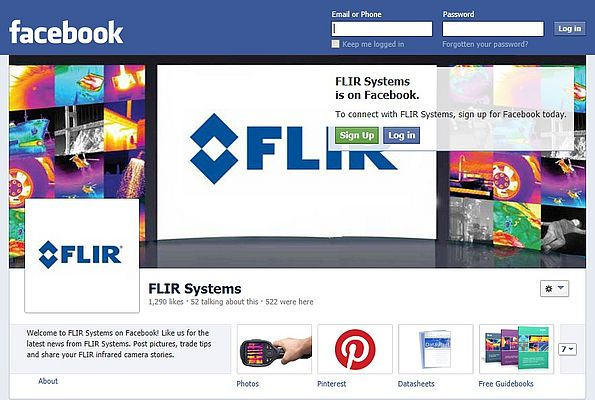 Flir Systems Expands Information Via Social Networks