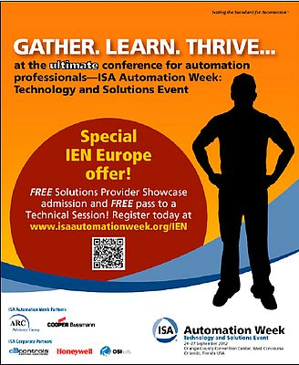 ISA automation week -
