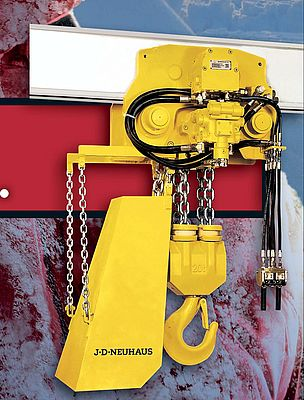 Hydraulic Hoist For Arctic Applications
