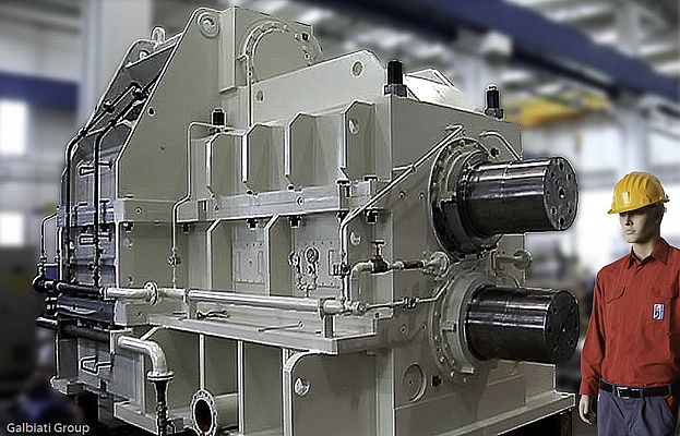 Gear Drives for Hot/cold Rolling Mill