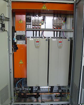 High efficiency motor and inverter package