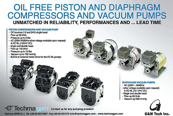 Oil Free Compressors and Pumps