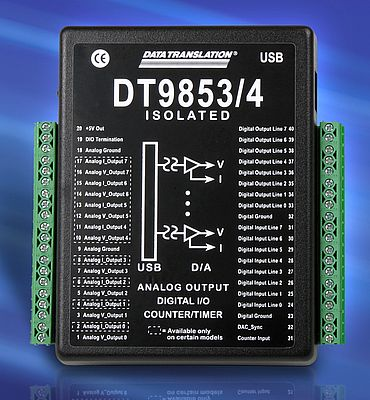 Isolated USB Analog Output Modules