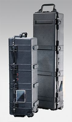 long cases protect sensitive equipment