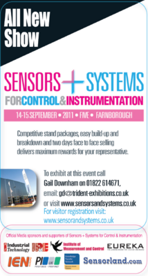 Sensors + Systems for Control and Instrumentation