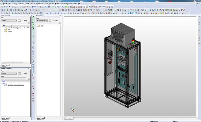 Eplan Pro Panel brings 3D into the project.