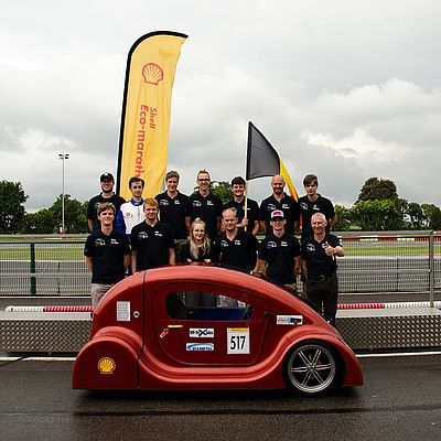 Warner Electric Sponsored Students for Shell Eco Marathon