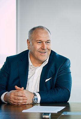 Matthias Altendorf, CEO of Endress+Hauser