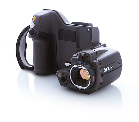 Thermal imaging camera of the FLIT T400 series