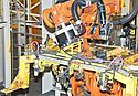 Robot Accessories Contribute to Reliable Production of Car Bodies